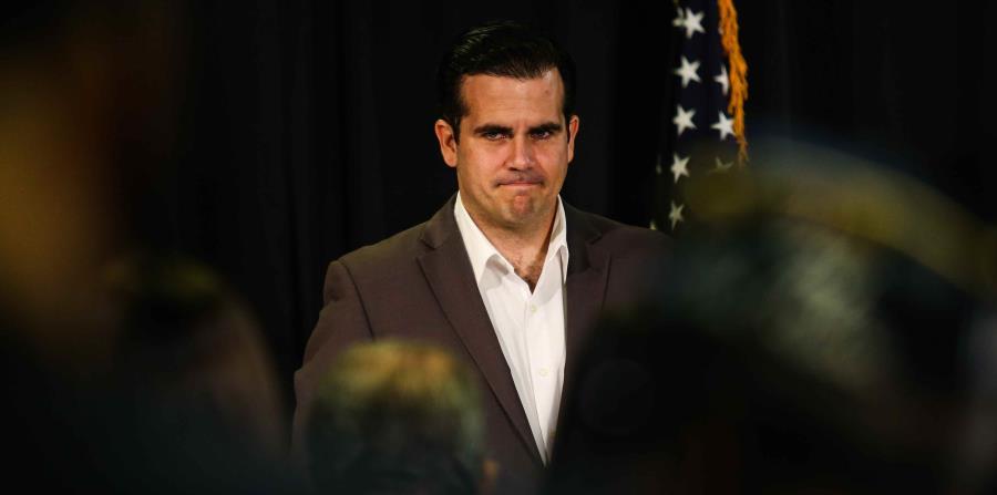 El gobernador de Puerto Rico, Ricardo Rosselló Nevares, durante una reunión que llevó a cabo con la comunidad puertorriqueña de la Florida Central. (horizontal-x3)