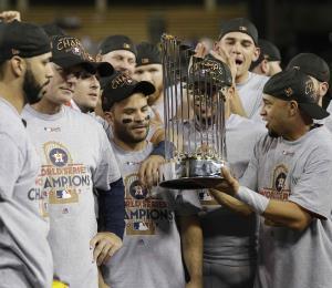 Los Astros acaparan siete premios en los MLB Esurance