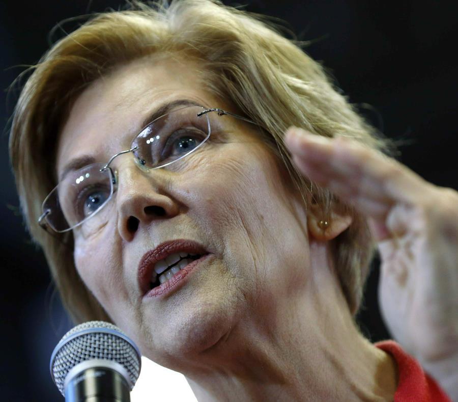 Elizabeth Warren senadora de Estados Unidos