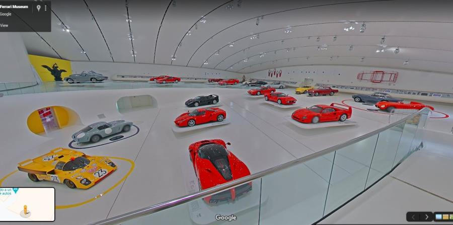 Museo Enzo Ferrari (Google Street View)