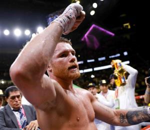 Canelo Álvarez, el mejor campeón del boxeo en 2019