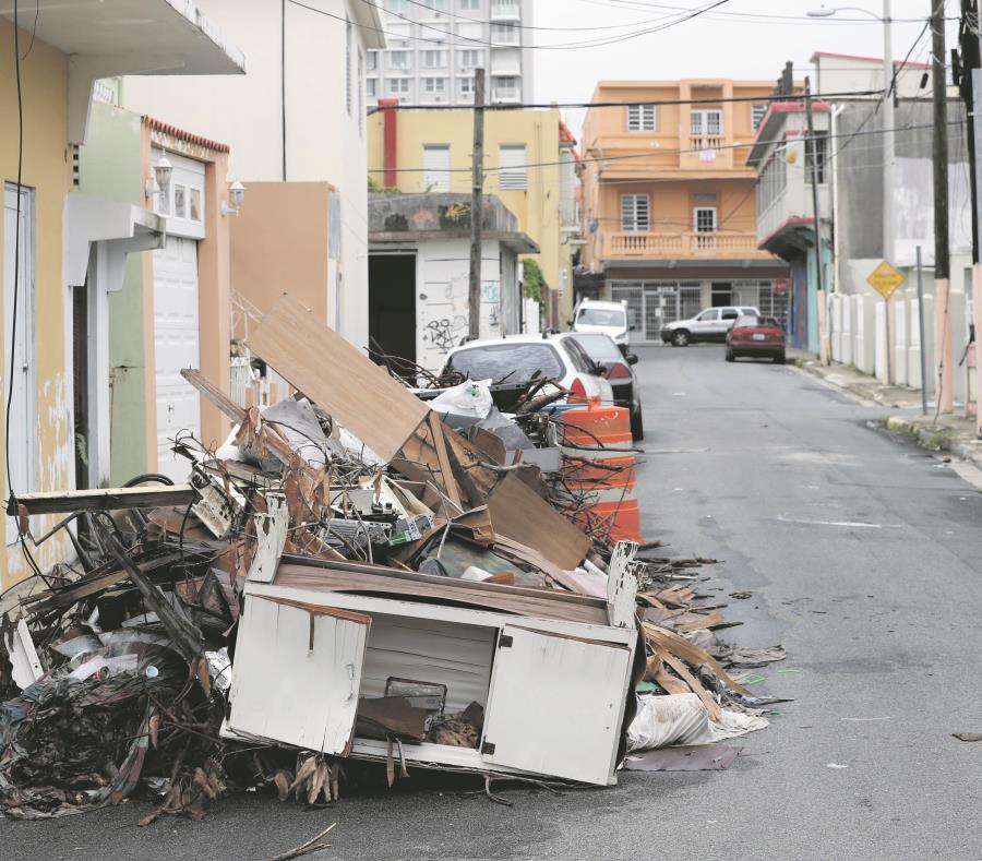 Solicitud recogida de escombros