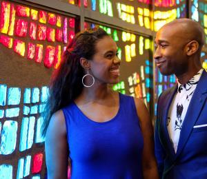 """Rebecca E. Covington y Donald Webber Jr.: los enamorados de """"Hamilton"""""""