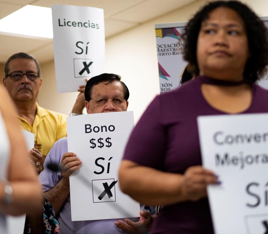 A partir de hoy y hasta el miércoles, los educadores del país tendrán la oportunidad de avalar o rechazar el acuerdo que la Asociación de Maestros suscribió a mediados del mes pasado con la Junta. (semisquare-x3)