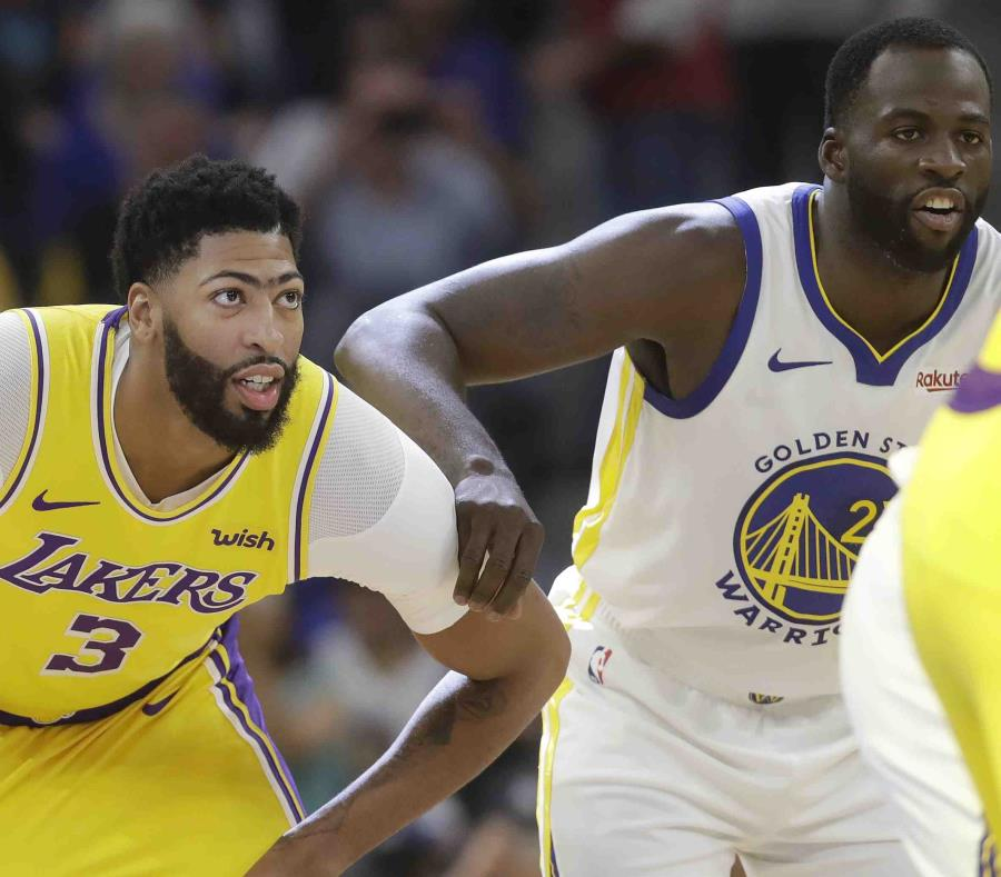 LeBron James y Anthony Davis lucen en debut de pretemporada de Lakers
