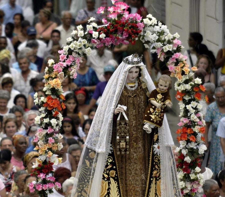 GENERAL - Virgen María fue destruida a martillazos por un pastor en Mompox