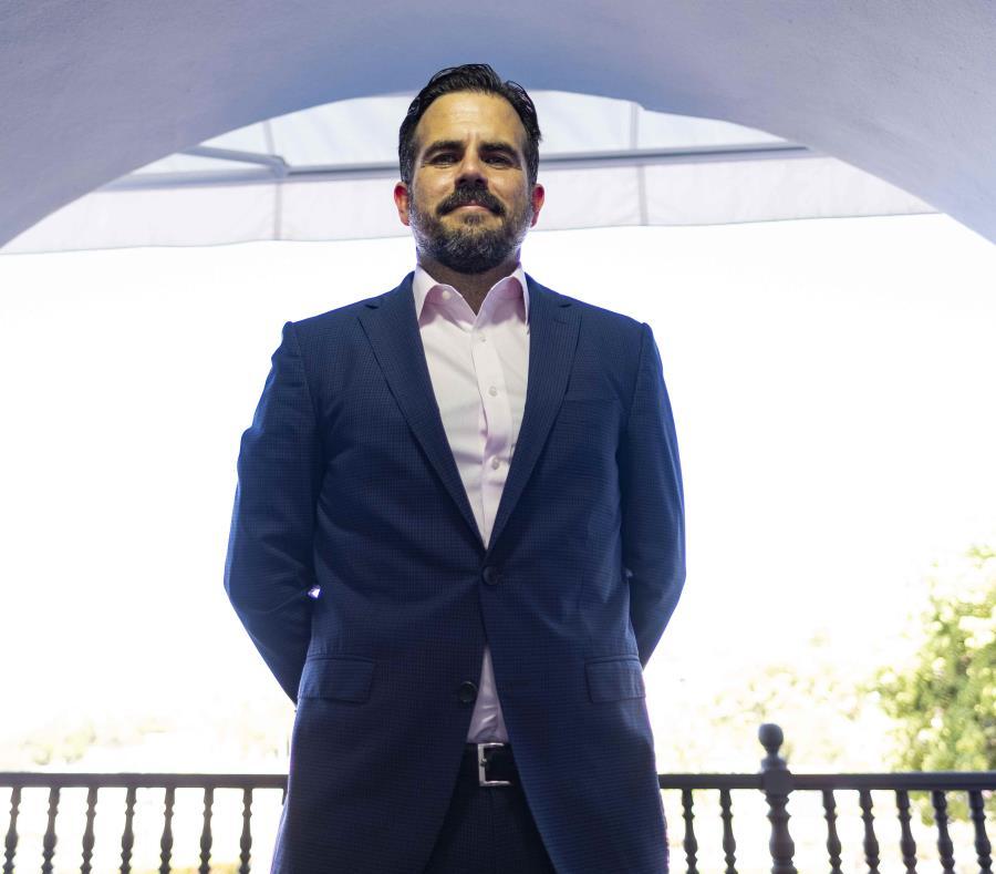 The Governor of Puerto Rico, Ricardo Rosselló (semisquare-x3)