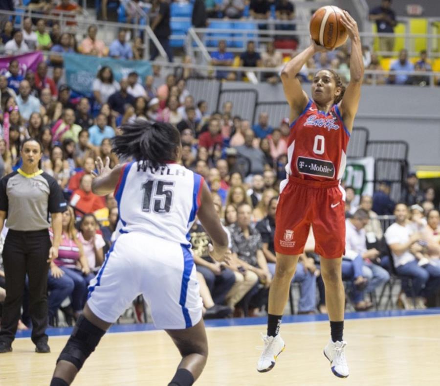 La Selección Nacional abrirá el sábado su participación en la Copa Mundial ante Bélgica. En la foto, Jennifer O'Neill, armadora del combinado. (Cortesía FIBA) (semisquare-x3)