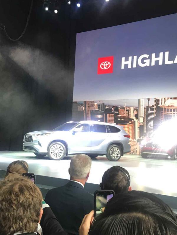 La nueva Highlander fue presentada en el New York International Auto Show. (Jannette
