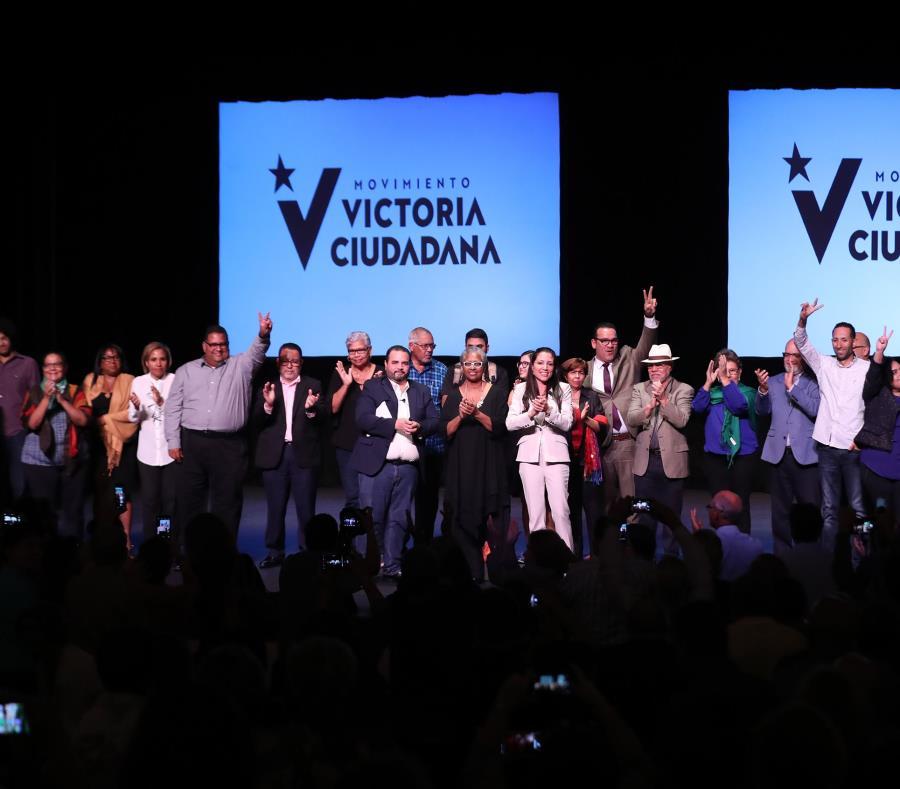 El Movimiento Victoria Ciudadana (MVC)  aún no ha anunciado quiénes serían sus candidatos a puestos electivos. (GFR Media) (semisquare-x3)