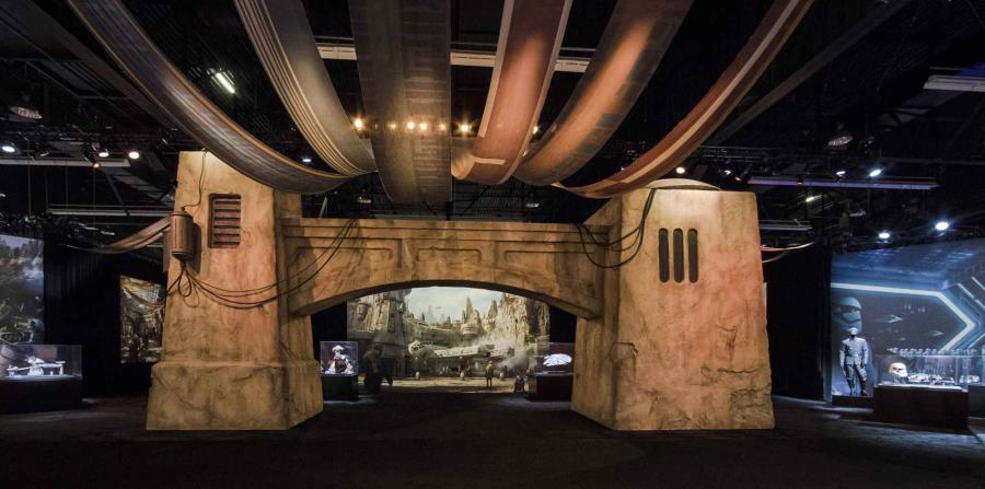 El Star Wars land será del agrado de los amantes de estas películas de ciencia ficción.