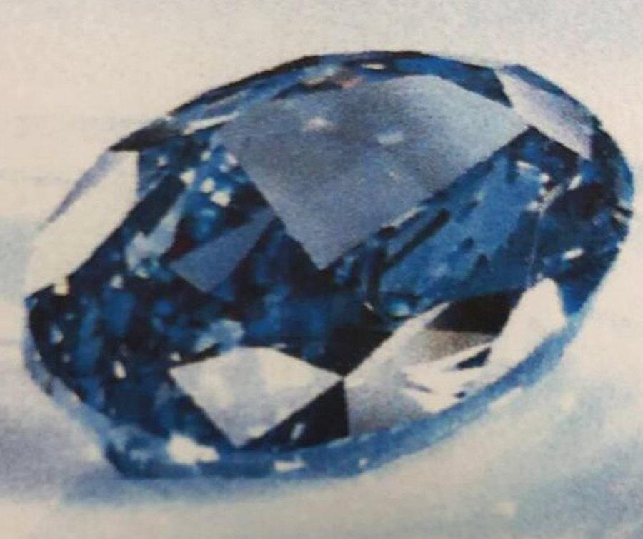 Recuperan en Dubái un diamante azul valorado en $20 millones (semisquare-x3)