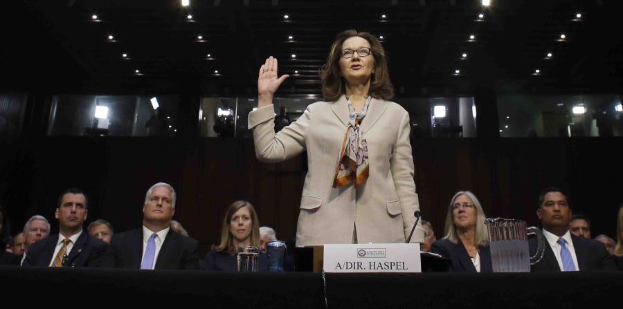 La directora de la CIA, Gina Haspel. (horizontal-x3)