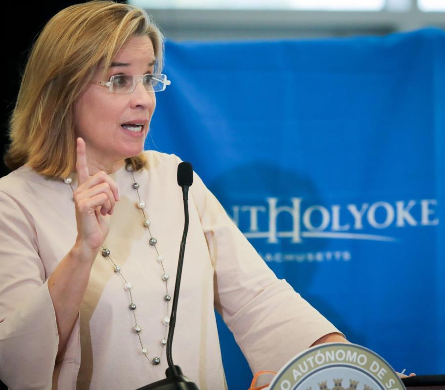 La alcaldesa anticipó que acudirá hasta el Tribunal Supremo para dar la batalla legal contra el exinspector de la Policía Municipal Heriberto Pagán Concepción. (Suministrada) (semisquare-x3)