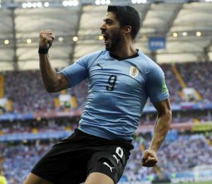 Uruguay vence a Arabia Saudita con gol de Luis Suárez