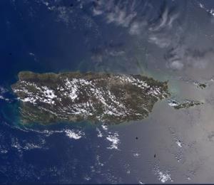 Astronauta boricua capta fotos de Puerto Rico desde el espacio