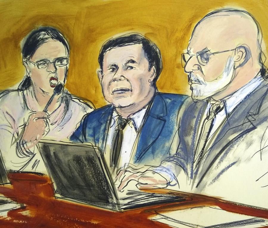 Los miembros del jurado pidieron el pasado jueves al juez Brian Cogan, que preside este caso, revisar parte del testimonio de