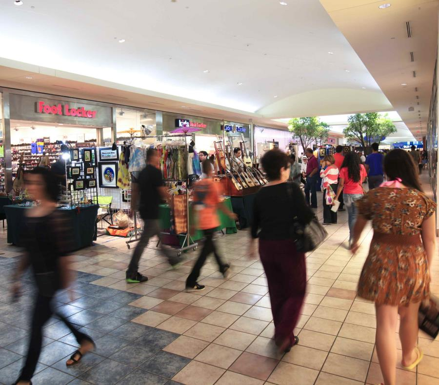 El centro comercial se mantuvo operando pese al apagón (semisquare-x3)