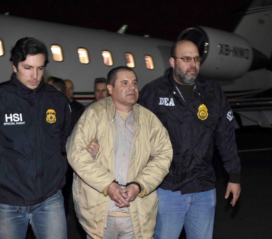 Guzmán es el  ex líder del cartel de Sinaloa. (semisquare-x3)