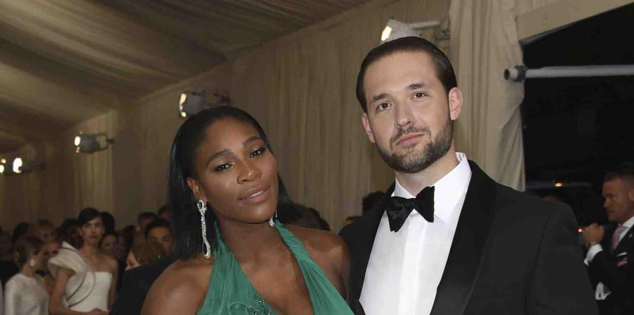 Williams junto a su pareja, Alexis Ohanian. (Archivo / AP) (horizontal-x3)