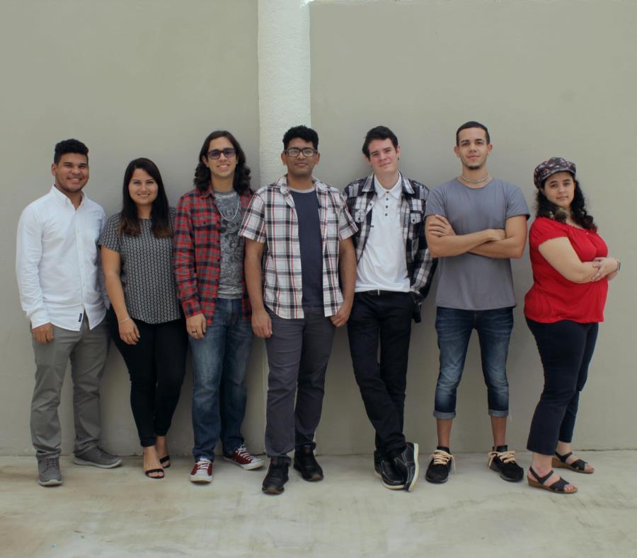 Cultura Original son Gabriel Morales, Lizzette Torres, Luis Santiago, Josean Castillo, Manuel González, Luis Albino y Mara Matías. (Suministrada) (semisquare-x3)