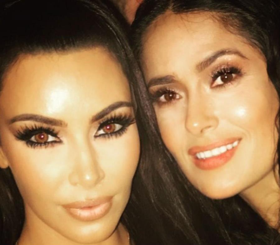 Salma Hayek, inspiración Kim Kardashian