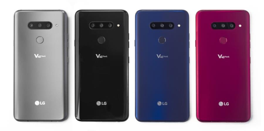 El V40 ThinQ cuenta con cuatro convertidores de digital a análogo para los amantes de la música. (LG.com)