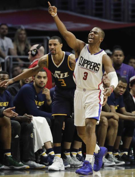 Chris Paul, de Los Angeles Clippers, durante una jugada. (vertical-x1)