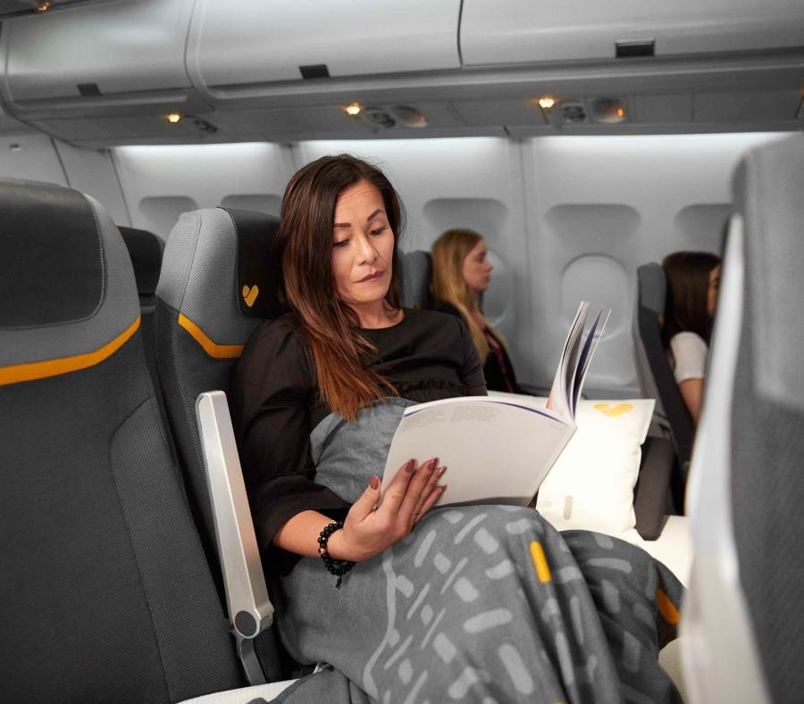 Con la opción del Sleepr Seat de la aerolínea Thomas Cook, los pasajeros no tendrán que pagar un boleto de clase