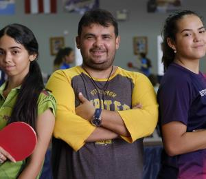 Bladimir Díaz: una gesta impensable en el tenis de mesa
