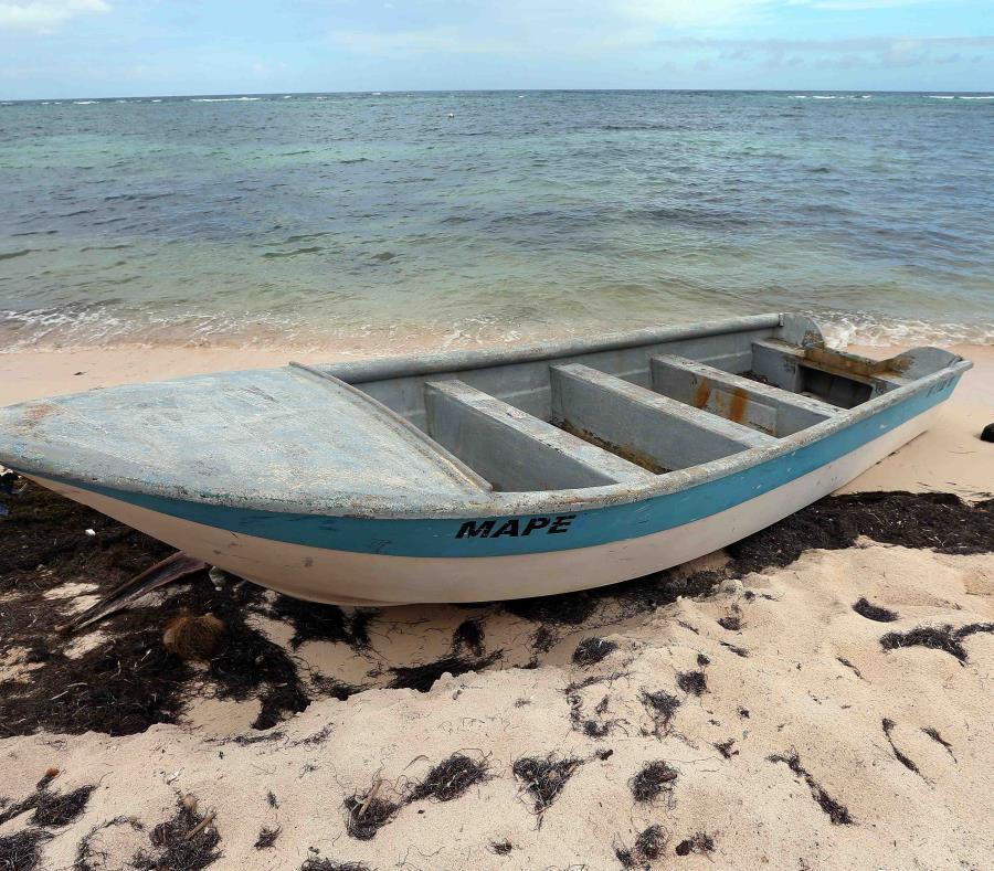 La mujer llegó a la isla a través de una yola. (GFR Media) (semisquare-x3)