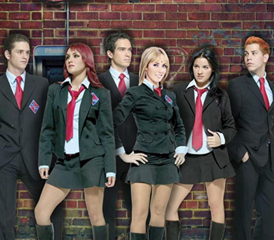 El grupo mexicano RBD se separó en el 2008. (semisquare-x3)