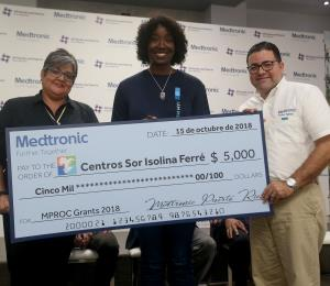 La empresa Medtronic aumenta apoyo monetario para la recuperación