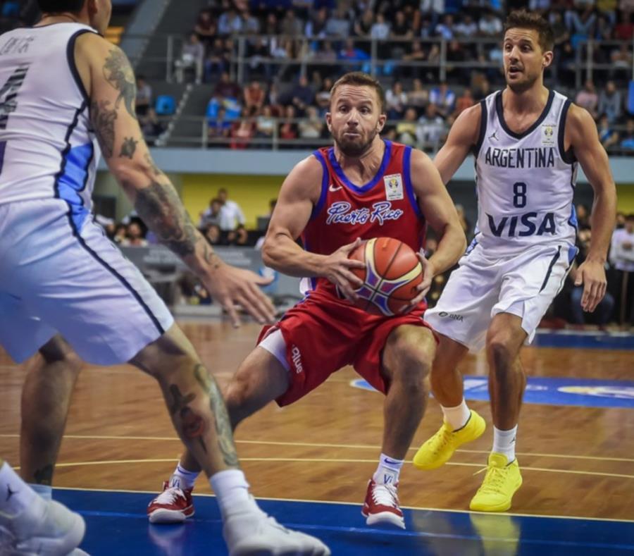 El armador José Juan Barea lideró la ofensiva de Puerto Rico durante el partido. (Cortesía FIBA) (semisquare-x3)