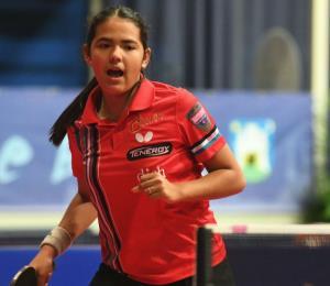 Adriana Díaz se coloca entre las mejores 32 del Mundial en Hungría