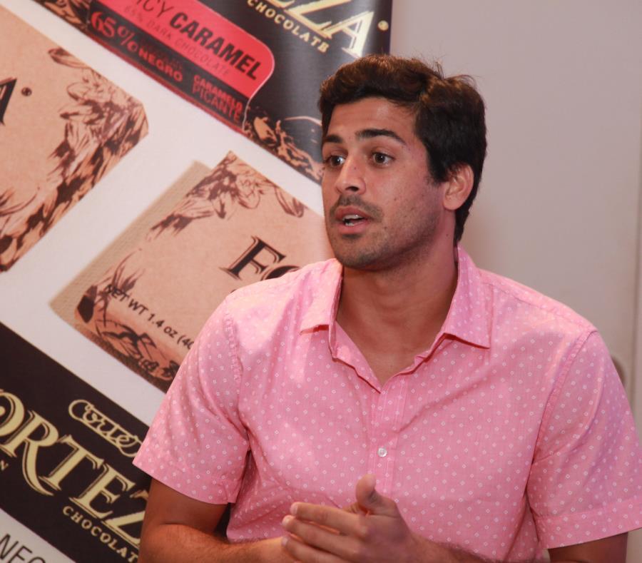 Eduardo Cortés aspira a que la marca de chocolate fino Forteza, que se elabora en Puerto Rico, sea reconocida a nivel internacional. (Suministrada) (semisquare-x3)