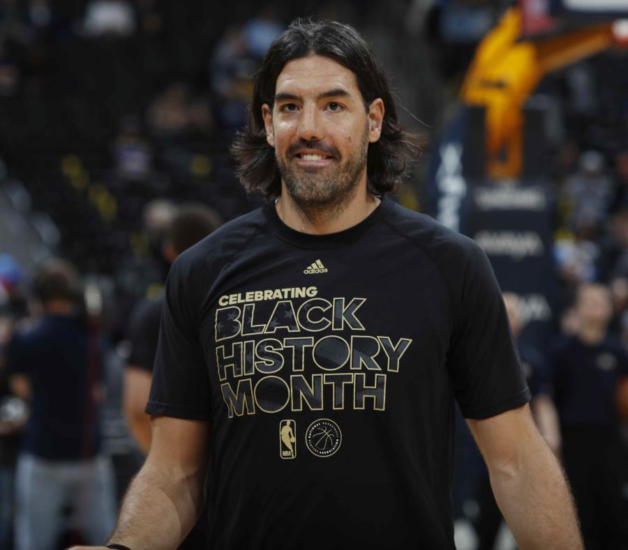 Luis Scola con los Nuggets de Denver el año pasado. (AP) (semisquare-x3)