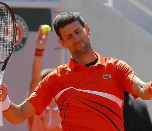 """Djokovic: """"Es difícil jugar tu mejor tenis en medio de un huracán"""""""
