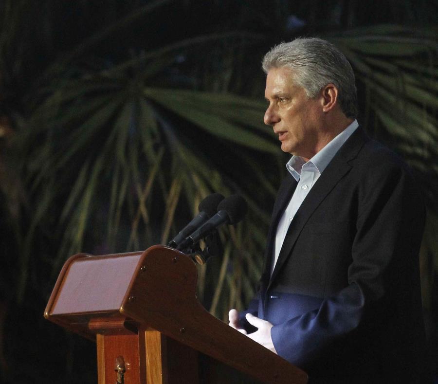 Miguel Díaz Canel, presidente de Cuba (semisquare-x3)