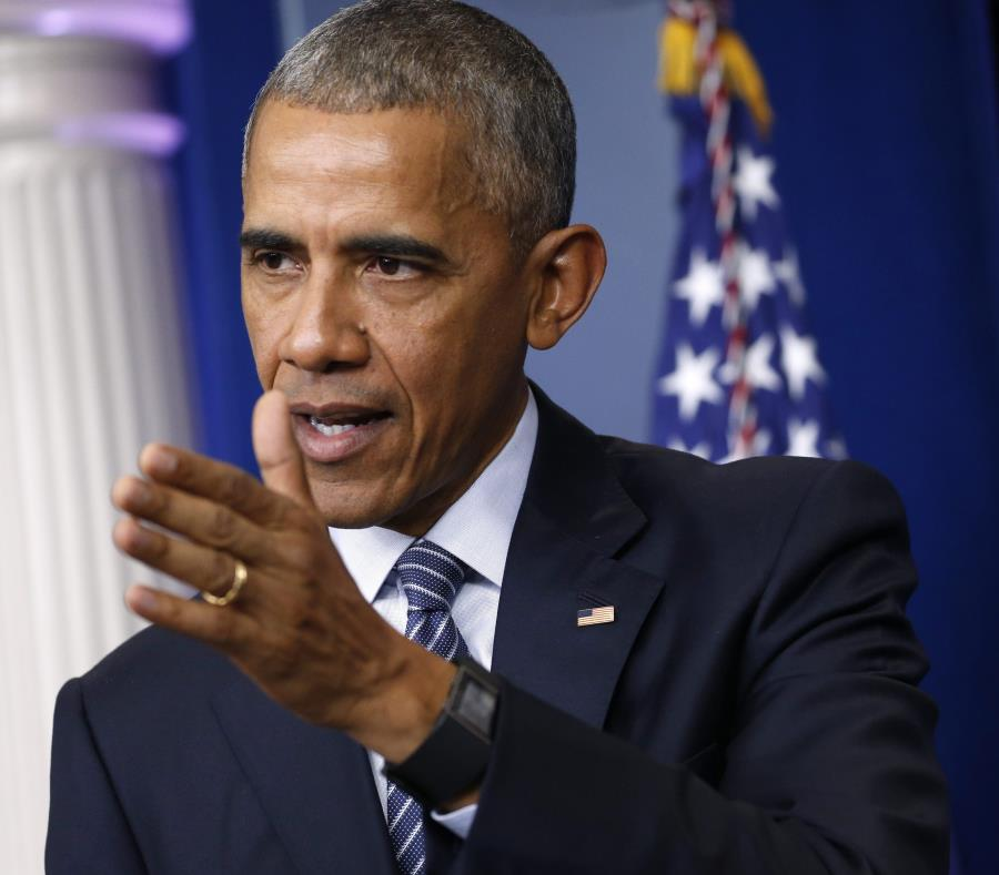 El expresidente de Estados Unidos, Barack Obama (semisquare-x3)