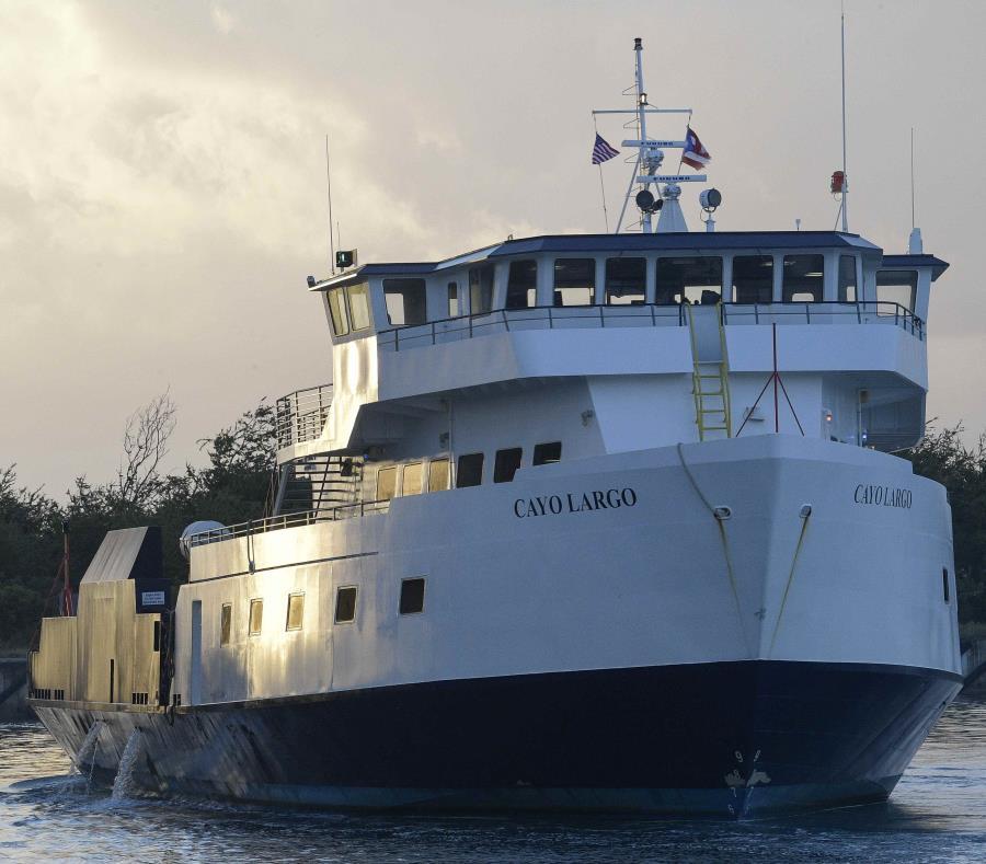 La embarcación Cayo Largo, una de las involucradas en el accidente. (GFR Media) (semisquare-x3)