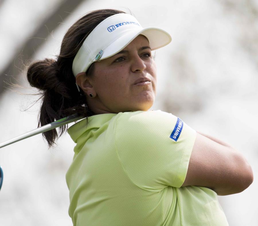 María Fernanda Torres durante un torneo en Canadá en agosto. (AP) (semisquare-x3)