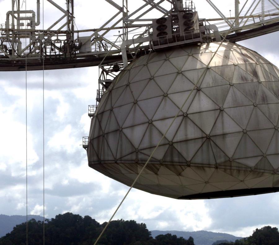 Observatorio de Arecibo sigue siendo el radiotelescopio más grande del mundo en funcionamiento. (GFR Media) (semisquare-x3)