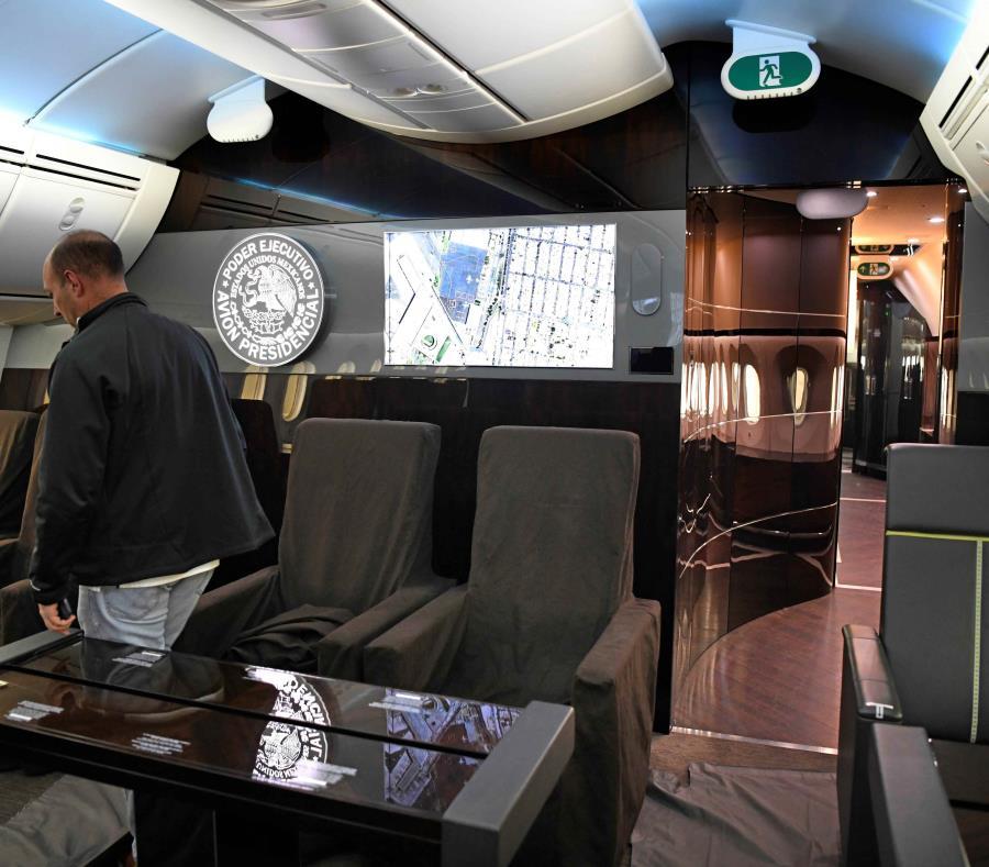 Avión presidencial que Andrés Manuel López Obrador puso a la venta por considerarlo un lujo excesivo. (semisquare-x3)
