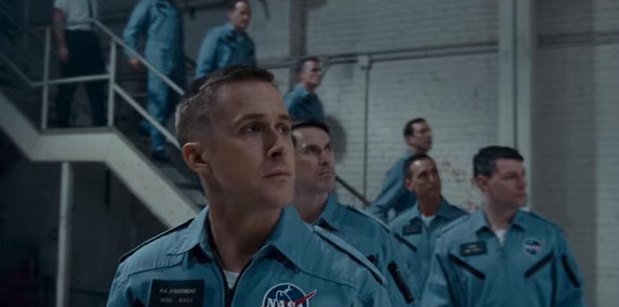 El actor interpretará al astronauta Neil Armstrong, el primero en pisar la superficie de la Luna. (Youtube.com) (horizontal-x3)