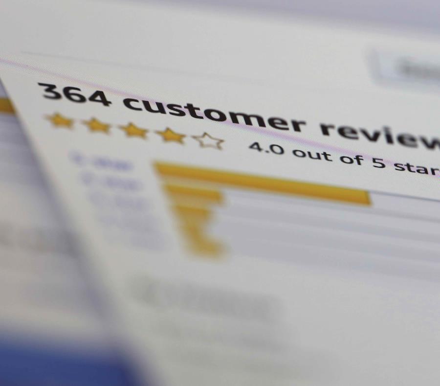 Los comentarios auténticos son una herramienta valiosa para el comprador. (semisquare-x3)
