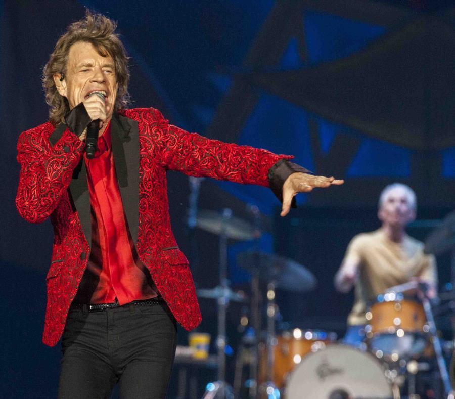 El cantante de rock  Mick Jagger (AP) (semisquare-x3)