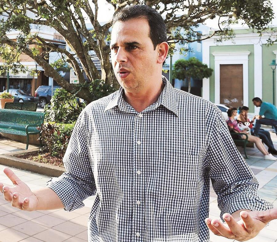 William Alicea, alcalde de Aibonito, dijo que confronta problemas con las escuelas destinadas para refugios. (GFR Media) (semisquare-x3)