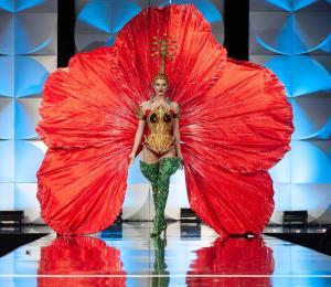 El coquí y la flor de maga sobresalen en la preliminar de Miss Universe
