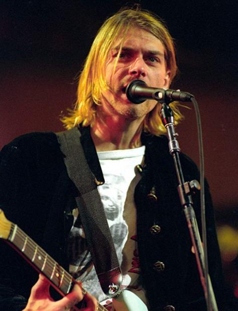 Kurt Cobain nació el 20 de febrero de 1967 en Aberdeen, Washington. (IMDb) (vertical-x1)
